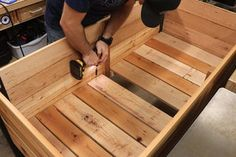 How to Make a DIY Raised Planter Box : 14 Steps (with Pictures) - Instructables Planter Box Plans, Raised Planter Boxes, Garden Planter Boxes, Backyard Planters, Diy Planters, Cedar Fence Pickets, Plant Box, Home Vegetable Garden, Herb Garden