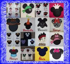 Create your own Disney t-shirts at home!  So easy!