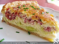 leek pie - Aufläufe Rezepte und Foodfotos - To eat healthy food Lunch Recipes, Meat Recipes, Breakfast Recipes, Dinner Recipes, Cooking Recipes, Breakfast Meat, Healthy Recipes, Salad Recipes, Healthy Food
