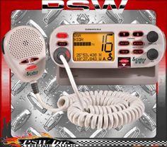 MR F75-D COBRA Marine 25 Watt Fixed Mount VHF Radio with Tri-Watch