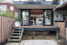 House Overveen features glass slab supported by large Douglas beams | Inspirationist
