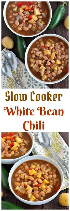 white bean chili..vegan..gluten free..my whole food life..