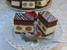Rozi Erdélyi konyhája: Gesztenyés pöttyöske Hungarian Recipes, Tiramisu, Cukor, Sweets, Cookies, Ethnic Recipes, Food, Sweet Pastries, Biscuits