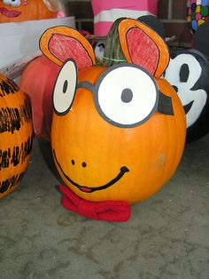 Pumpkin Book Characters by Old Shoe Woman, via Flickr