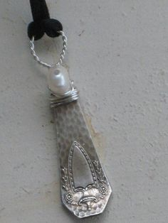 Fork Necklace  $18  www.laughingfrogstudio.etsy.com