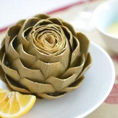 perfect steamed artichoke
