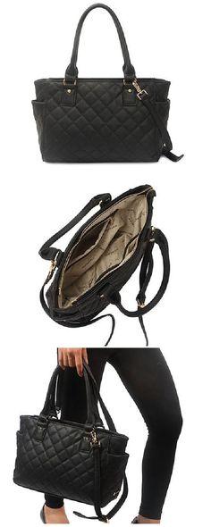 170d9f8e9 Bolsa Matelassê Nina Macadâmia -Bolsa média com alça de ombro, alça  transversal removível,