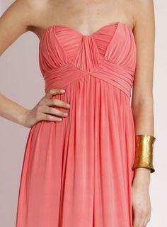 Langhem Mona Lisa coral maxi dress, from swishclothing.com.au ...