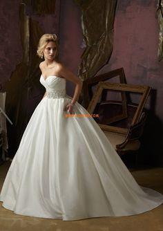 Herz-Ausschnitt Sanduhr Empire Brautkleider 2014