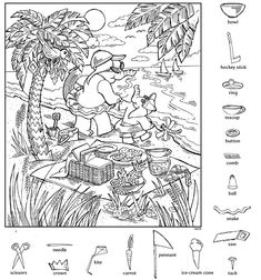 Hidden Pictures Printables, Hidden Objects, Early Finishers, Art Activities, Vocabulary, Exercises, Vintage World Maps, Puzzle, Classroom