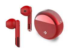 Unveiled at MWC 2019 in Barcelona, the new ZePods range of true wireless earbuds by MyKronoz feature a familiar design, closely resembling Apple's AirPods, and are complemented by features which might be appreciated for users looking for an affordable, more stylish alternative. The ZePods and ZePods+ are available in 6 vibrant colors, support up to 5 hours playtime with an extra 10 hours in the battery case, and use embedded fast charging so they take only 15 minutes to fully charge and be ready Mini Wireless Speaker, Wireless Speakers, Bluetooth, Wearable Device, Wearable Technology, Airpods Pro, Noise Reduction, 5 Hours, Barcelona