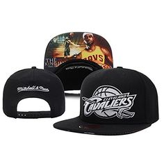 bc5cc650c59 Isymeotu-TY Unisex Adjustable Fashion Leisure Baseball Hat Cleveland  Cavaliers Snapback Dual Colour Cap Nba