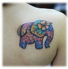 very cute, like the colours  #elephant