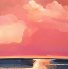 Robert Roth - low horizon composition - abstract landscape