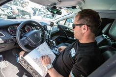 Inside the Omega Pharma Quick-Step team car