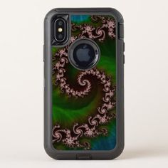 #beauty - #Benthic Saltlife Fractal Tribute for Reef Divers OtterBox Defender iPhone X Case