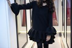 Sukienka od MONTENAPOLEONE Peplum, Ruffle Blouse, Long Sleeve, Sleeves, Blog, Women, Fashion, Moda, Full Sleeves