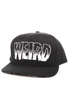 Creep Street Hat Get Weird Snapback in Black