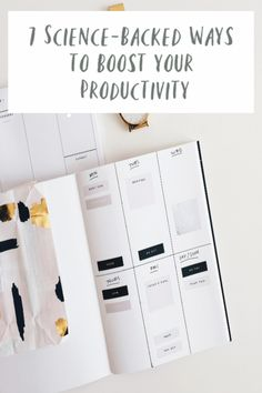 Science-Backed Ways to Boost Productivity and help you be more efficient and goal focussed and ultimately more successful. Great self-help and self-improvement ideas for your work and for your life Parenting Teens, Good Parenting, Parenting Hacks, Health And Wellbeing, Beautiful Space, Blog Tips, Self Improvement, Homemaking, Self Help