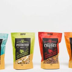new pouch packaging #nutpackaging #foodpackaging curated by Copious Bags™
