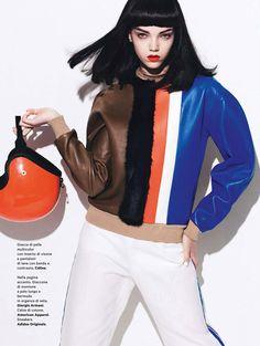 Jenna Earle by Takahiro Ogawa inAmica, styled byClaudia Cerruti