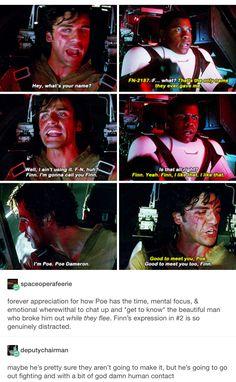 Star Wars, tfa, the force awakens, Poe dameron, Finn