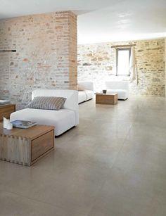 Large floor tiles in Ceramic Living Room Flooring, Bedroom Flooring, Kitchen Flooring, Tile Flooring, Large Floor Tiles, Wall And Floor Tiles, Tile Bedroom, Room Tiles, Floor Design