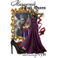 """Disney Style : Evil Queen"" by missm26 on Polyvore"