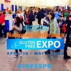The Gluten-Free Expo just opened! Come today or tomorrow to enjoy delicious gluten-free treats and mingle with other gluten-free people just like you! #glutenfree #cdf #cdfexpo #cdfexpo2016 #glutenfreeexpo #celiac #celiacdisease #pasadenaconventioncenter #pasadena #glutenfreelifestyle #gf_daily #LA #expo