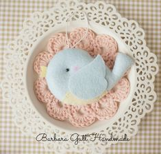 Barbara Handmade...: Pierwsze na Wielkanoc / First for Easter