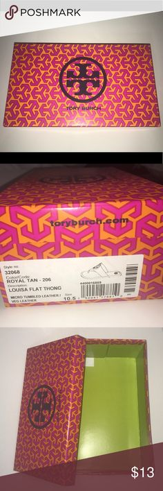 Tory Burch Box 10.5 Tory Burch Box Size 10.5,  Can also be used as a Gift Box! Happy Holidays! Tory Burch Other
