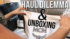 MCM BACKPACK DILEMMA AND UNBOXING