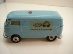 Impossible to find! Corgi Toys Promotional Marsh's Sausages VW Van