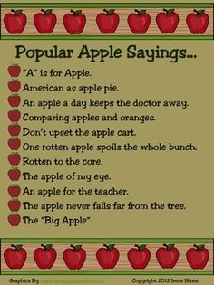 Apple Sayings Quotes. QuotesGram