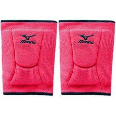 NEW! Mizuno 480119 LR6 Highlighter Knee Pads in Shocking Pink/Black $27.90