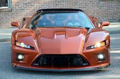 The Falcon F7 is a midengine aluminum monocoque sport coupe powered by a 620-horsepower V8. And in true supercar fashion, it promises a 200-mph top speed and a price of $245,000.