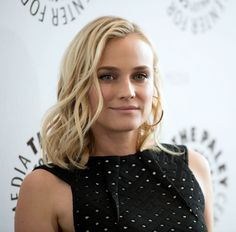 Diane Kruger's beachy waves — the perfect style for summer