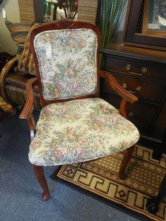Chairs, Tapestry $79.00 each. - Consign It! Consignment Furniture