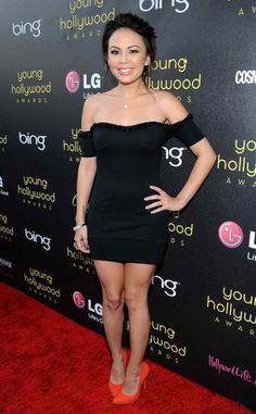 Janel Parrish at the Young Hollywood Awards in Hollywood on June 2012 Lying Game, Pretty Little Liars Fashion, Janel Parrish, Pretty Little Lairs, Brenda Song, Model Outfits, Dancing With The Stars, Celebs, Celebrities