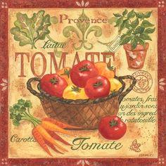 """Provence Tomatoes"" By Jennifer Brinley."