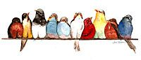 Birds on a Wire, by Aimee Rousseau. Birds collectively help us move through grief in addition their individual energetic missions