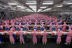 Manufacturing #17, Deda Chicken Processing Plant, Dehui City, Jilin Province…