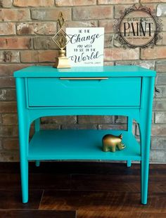 Patina Green Side Table | General Finishes Design Center