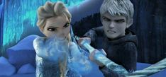 Image in Jelsa collection by Winter Frost on We Heart It Elsa Y Jack Frost, Jake Frost, Jack Frost And Elsa, Frozen Love, Elsa Frozen, Disney Frozen, Jelsa, Jackson Overland, In And Out Movie