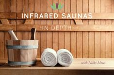 Infrared saunas in depth with nikki_moses. A great podcast detailing the many benefits of infrared sauna use.  #infraredsaunas #detox #health