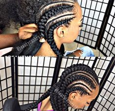 Why You Should Try These Summer 16 Cornrow Protective Style  Read the article here - http://www.blackhairinformation.com/general-articles/hairstyles-general-articles/try-summer-16-cornrow-protective-style/