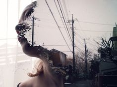 Miki Takahashi – Digital Art Photography (19 Pictures) > Design und so, Fashion / Lifestyle, Film-/ Fotokunst, Netzkram, Streetstyle > digital, double exposure, japan, miki, photography, set, Tokyo