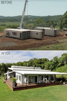 Tiny Container House, Shipping Container Home Designs, Shipping Container House Plans, Storage Container Homes, Building A Container Home, Container Buildings, Container Architecture, Shipping Containers, Container Office