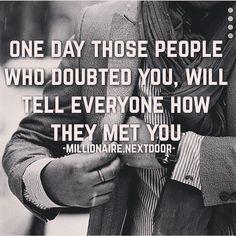 Stay Humble even when that time comes!  Follow my friend @millionaire.nextdoor for awesome Daily quotes. #entrepreneur #millionaire #goals #success #dreams #humble #futuremillionaire #motivationmonday #motivation by dandan1320