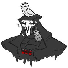reaper and owls is my new favorite thing